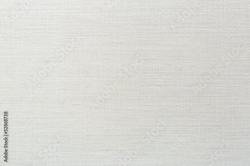 Foto op Canvas Stof linen canvas white texture background