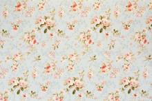 Rose tapisserie florale, la texture de fond romantique