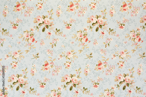 Keuken foto achterwand Stof Rose floral tapestry, romantic texture background