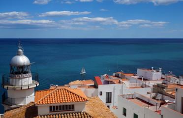 Vue cote méditerranéenne, cote del Ahazar, Espagne