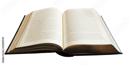 Poster Book isolated on white