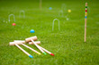 Jeu de croquet - 52870331