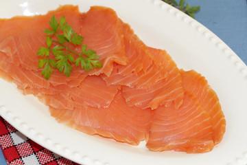saumon fumé