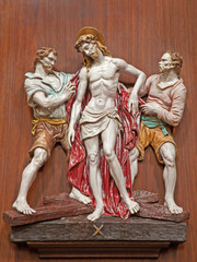 Verona -  Jesus Stripped of His Garments.