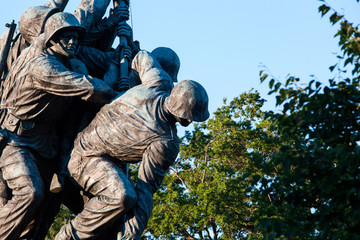 Iwo Jima statue in Washington DC