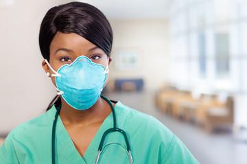 Nurse with mask