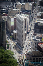 Fototapete - Flatiron Building New York