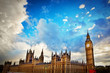 London, the UK. Big Ben, the Palace of Westminster