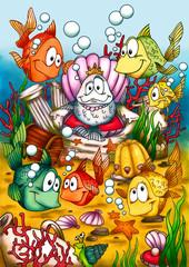 Fische, Fisch, Atlantis, Meer, Unterwasser