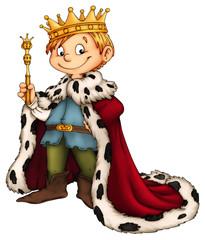 König, Prinz, Kind, Junge, Karneval