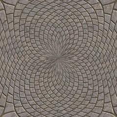 Stone pavement. Seamless pattern.