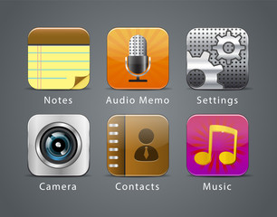 Apps icon set 2