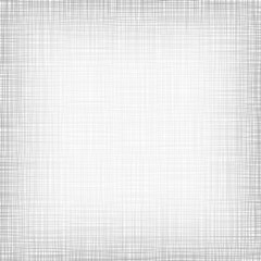 Background With Threads. White Gray Linen. Vector Illustration