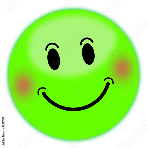 smily, smiley grün  #130601-svg01