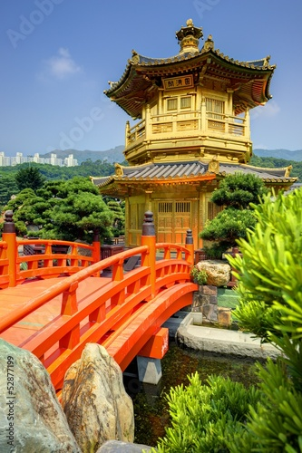 Golden Pavilion in Hong Kong