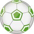 Fußball grün-weiß
