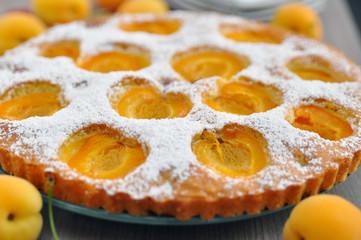 Marillenkuchen, Aprikosenkuchen
