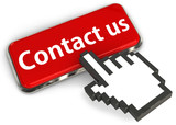 Contact us button with hand cursor