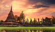 Sukhothai historical park, the old town of Thailand - 52881130