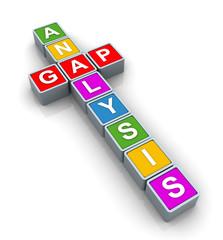3d Buzzword 'gap analysis'