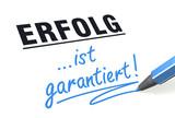 Stift- & Schriftserie: Erfolg ist garantiert!