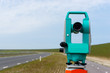 Total station or theodolite