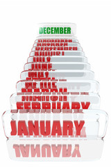 December month in the calendar