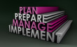 Detaily fotografie Management Planning