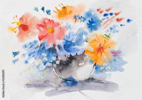 akwarela-malarstwo-l-kwiatow