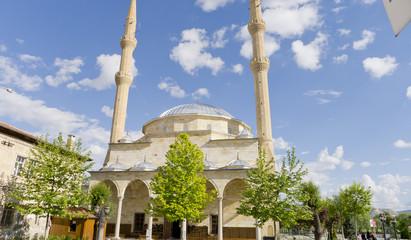 Mosque of Avanos, town of Cappadocia, Turkey.