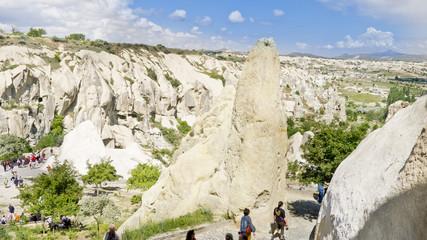 Caves in Capadocia, Turkey