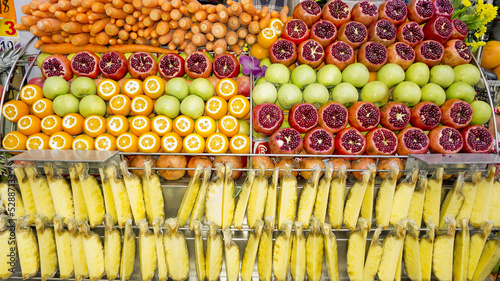 Fruits shop in Istanbul, Turkey.