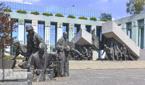 Monument to the heroes of the Warsaw Uprising - 52887136