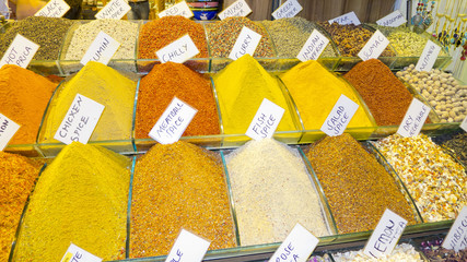 Spices market, Istanbul,Turkey.