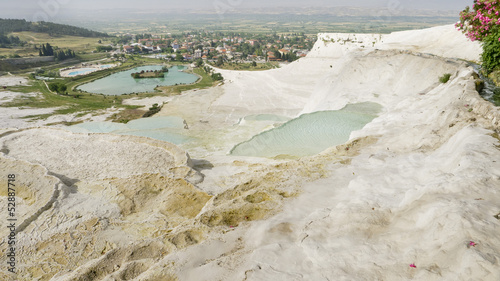 Pamukkale, World Heritage, Turkey.