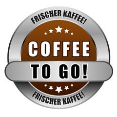 5 Star Button braun COFFEE TO GO! FK FK