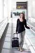 Frau reist