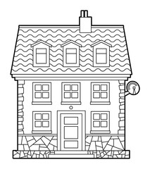 House, vector illustration