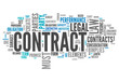 """Word Cloud """"Contract"""""""