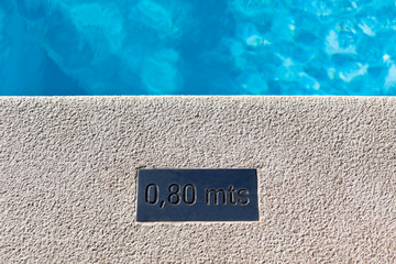Outdoor Swimming pool detail