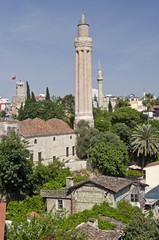 Türkei, Yivli-Moschee von Antalya.