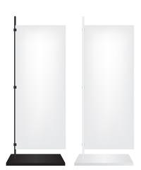 Flag stand banner