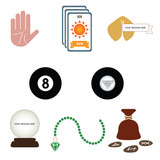 Fortune Telling and Divination Icons