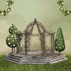 Romantic pagoda