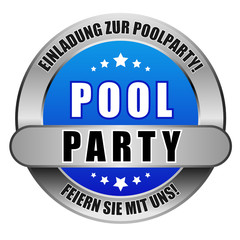 5 Star Button blau POOLPARTY EZPP FSMU