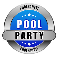 5 Star Button blau POOL PARTY DTO DTO