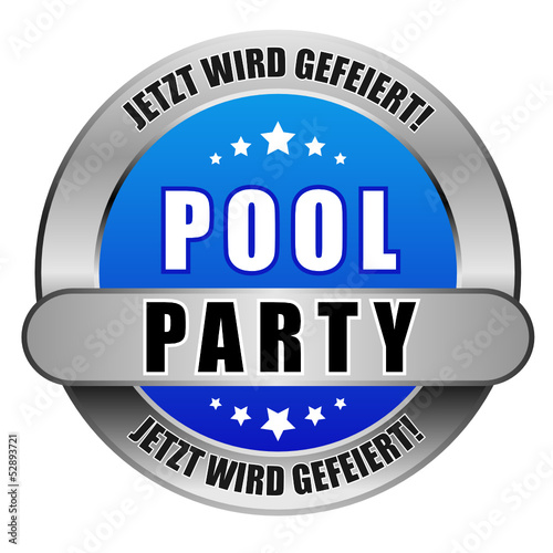 5 Star Button blau POOLPARTY JWG JWG