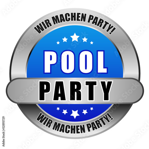5 Star Button blau POOLPARTY WMP WMP
