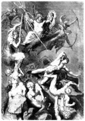 Gods : Fighting against the Titans - Greek Mythology