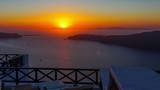 Greece Santorini sunset timelapse The most famous of  the world